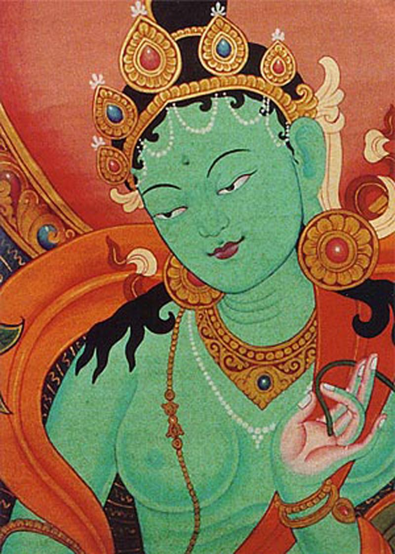 Green Tara 3: Green Tara~ The Lady Of Courage